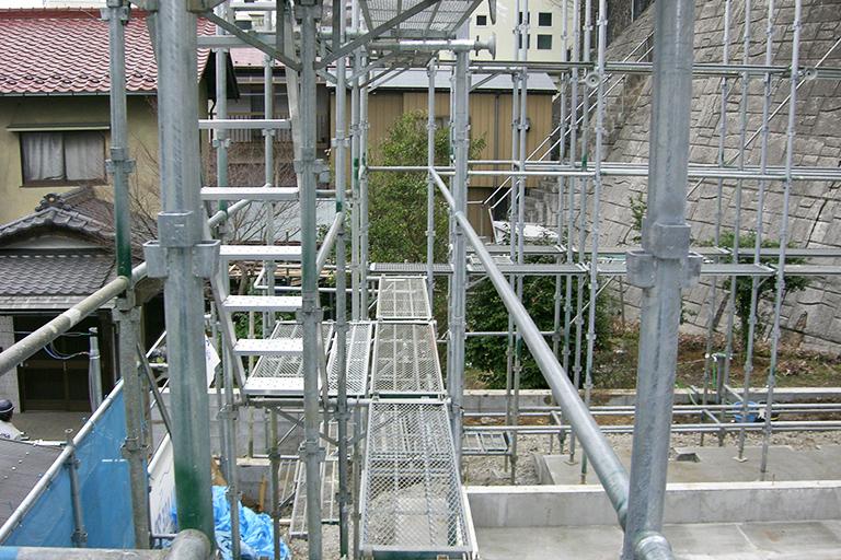 新築足場・改修足場工事の画像3